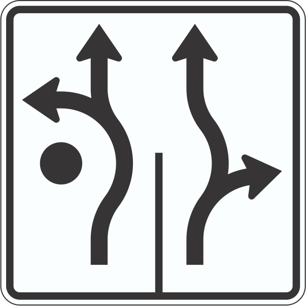 R3-8RA Roundabout Traffic Sign | Time Signs Manufacturing