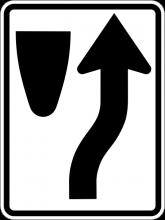 R4-7 Keep Right Symbol