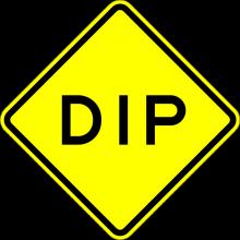 W8-2 Dip Sign
