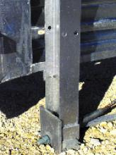 Hinged Break-Away Post