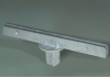 12 inch 180 degree u-channel sign bracket