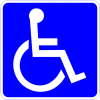 D9-6  Handicapped Accessible Sign