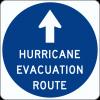 EM-1 Evacuation Route Sign