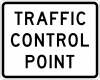EM-3 Traffic Control Point Sign