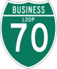 M1-2 Off-Interstate Route Sign