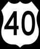 M1-4 U.S. Route Sign