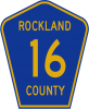 M1-6 County Route Marker