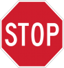 "R1-1  24"" Stop Sign"