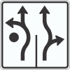 R3-8RA Roundabout Traffic Sign
