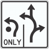 R3-8R Roundabout Traffic Sign